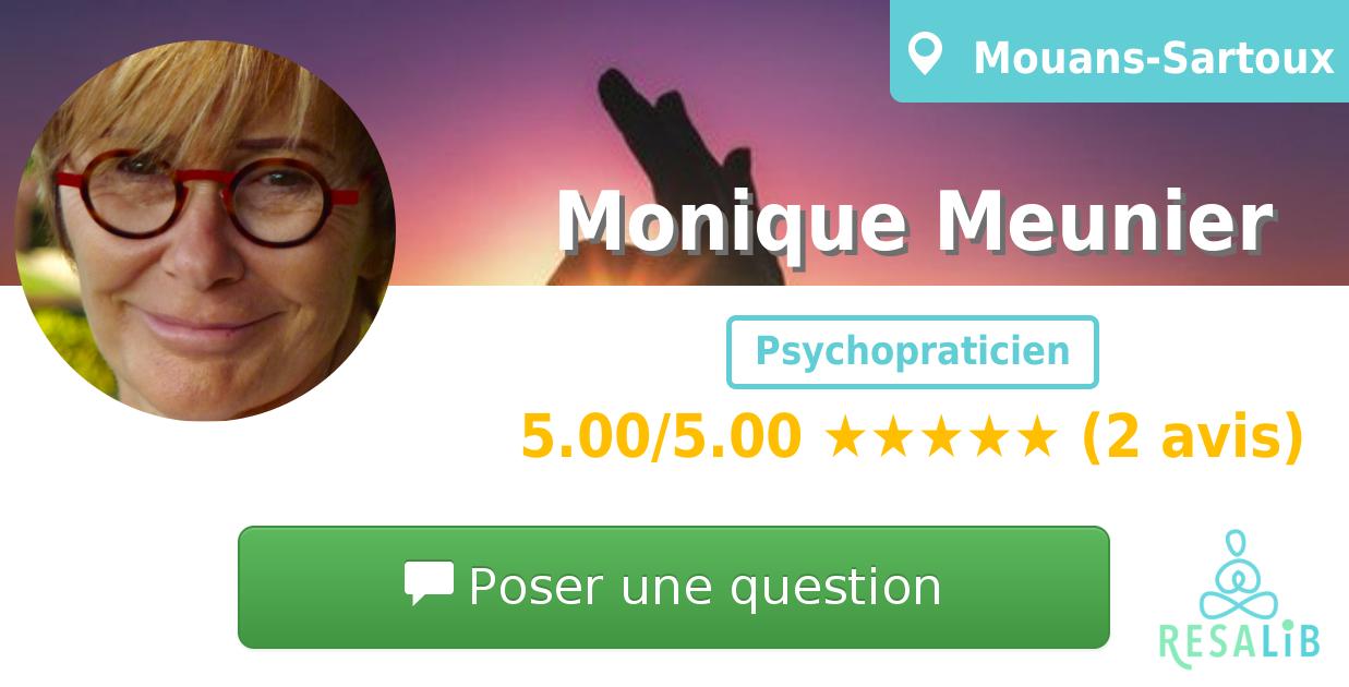 Prenez rendez-vous avec Monique Meunier