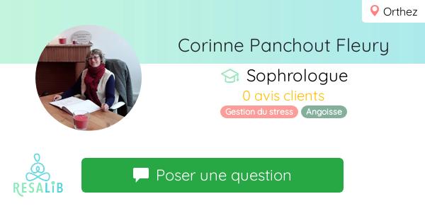 Prenez rendez-vous avec Corinne Panchout Fleury
