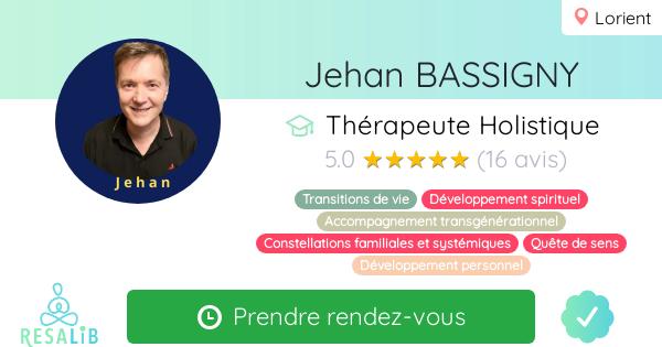 Consulter le profil de Jehan BASSIGNY sur Resalib l'annuaire des médecines douces et des thérapeutes