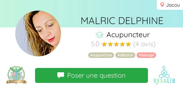 Consulter le profil de MALRIC DELPHINE