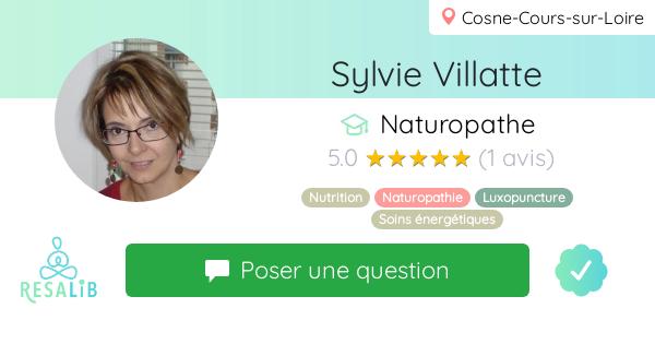 Prenez rendez-vous avec Sylvie Villatte