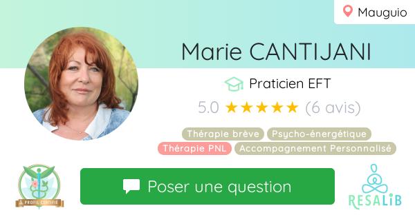 Consulter le profil de Marie CANTIJANI