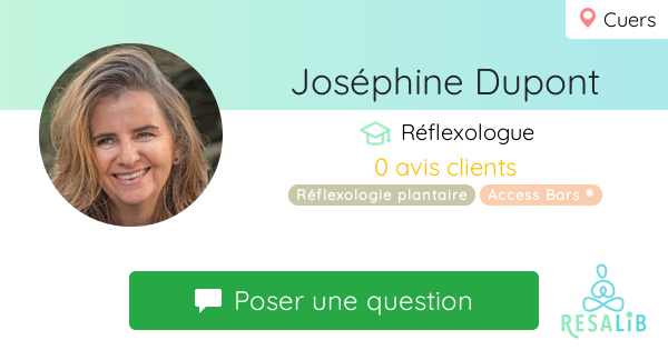 Prenez rendez-vous avec Joséphine Dupont