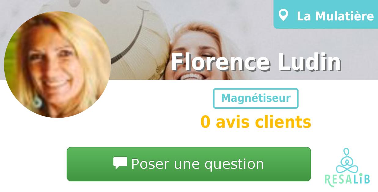 Prenez renez-vous avec Florence Ludin