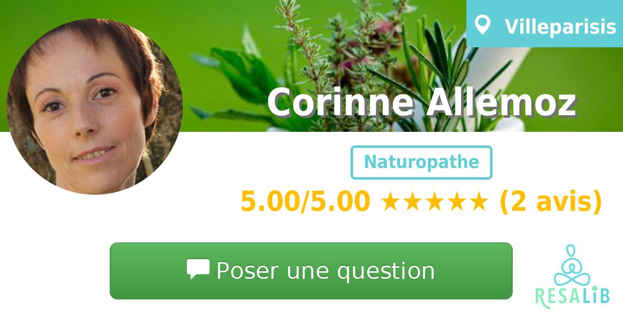 Consulter le profil de Corinne Allemoz