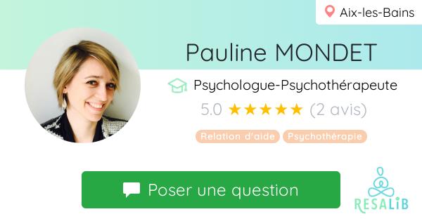 Prenez renez-vous avec Pauline MONDET