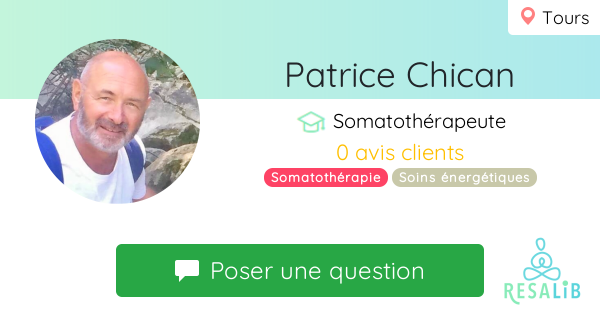 Prenez rendez-vous avec Patrice Chican
