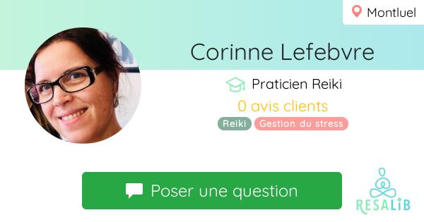 Prenez renez-vous avec Corinne Lefebvre