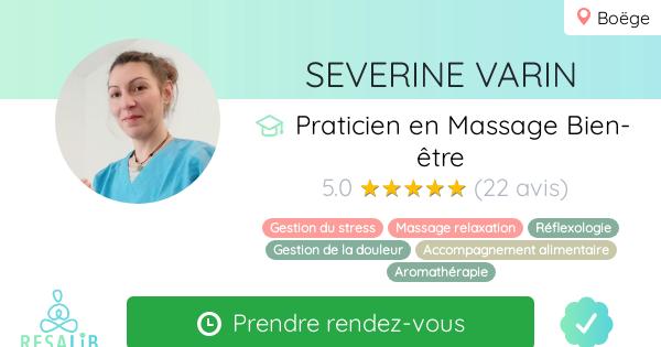 Consulter le profil de Severine VARIN