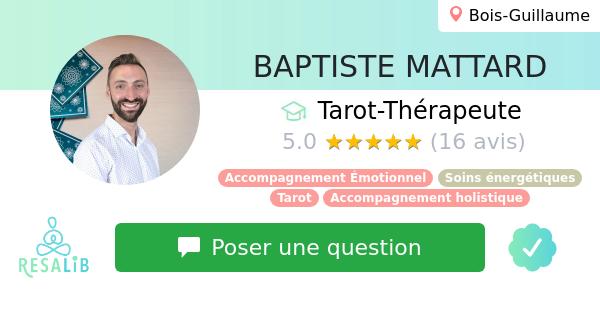 Consulter le profil de BAPTISTE THÉRAPEUTE