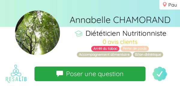 Consulter le profil de Annabelle CHAMORAND