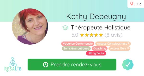 Consulter le profil et prenez rendez-vous avec Kathy Debeugny