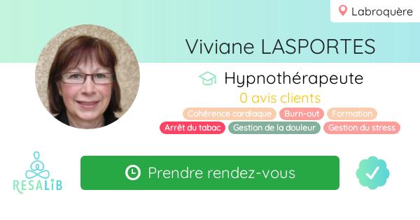 Consulter le profil de Viviane LASPORTES sur Resalib l'annuaire des médecines douces et des thérapeutes