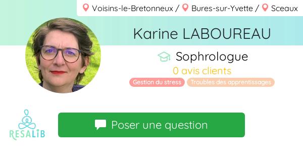 Consulter le profil de Karine  LABOUREAU
