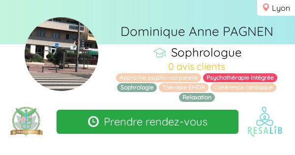 Consulter le profil de Dominique Anne PAGNEN sur Resalib l'annuaire des médecines douces et des thérapeutes