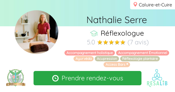 Consulter le profil de Nathalie Serre sur Resalib l'annuaire des médecines douces et des thérapeutes