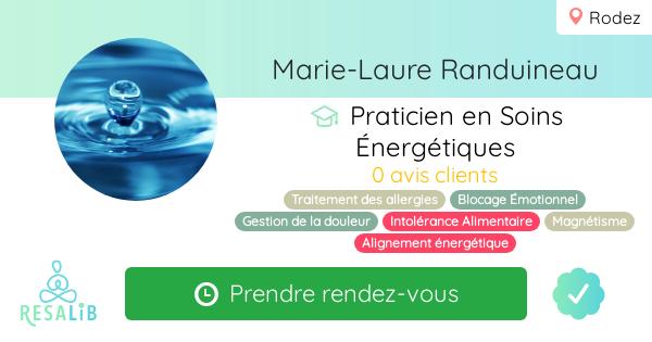 Prenez rendez-vous avec Marie-laure Randuineau