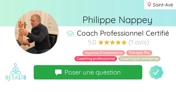 Prenez rendez-vous avec Philippe Nappey