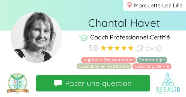 Prenez rendez-vous avec Chantal Havet