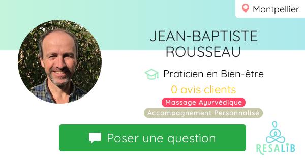 Consulter le profil de JEAN-BAPTISTE ROUSSEAU
