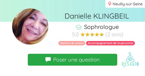 Consulter le profil de Danielle KLINGBEIL