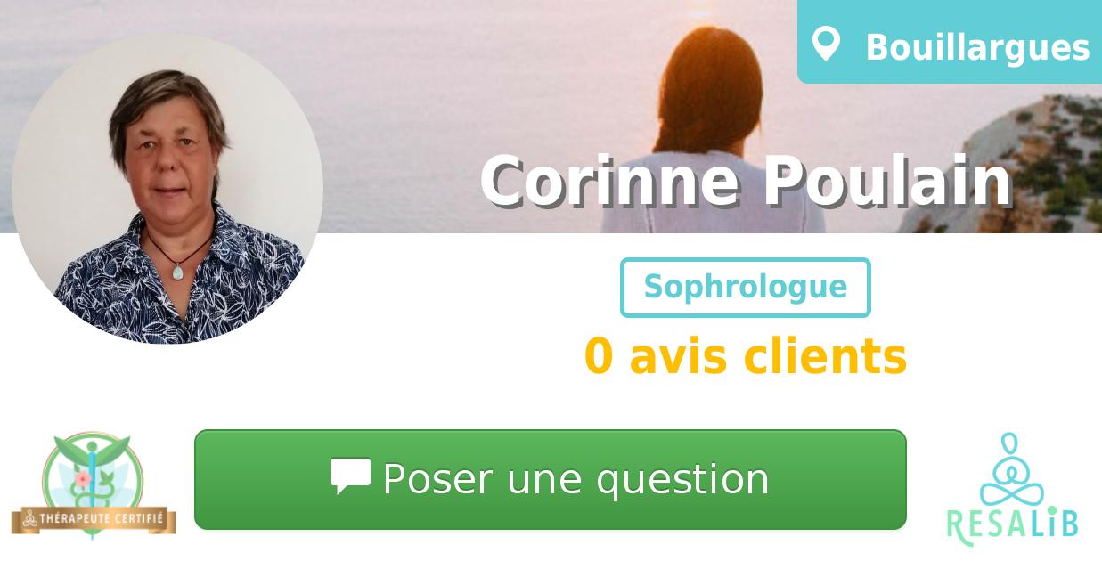 Consulter le profil de Corinne Poulain