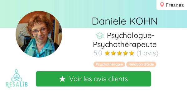 Consulter le profil de Daniele KOHN