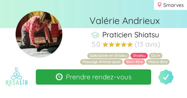 Consulter le profil de Valérie Andrieux sur Resalib l'annuaire des médecines douces et des thérapeutes