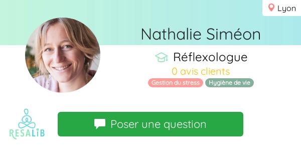 Prenez rendez-vous avec Nathalie Siméon