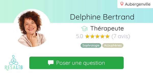 Consulter le profil de Delphine Bertrand