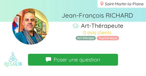 Prenez rendez-vous avec Jean-François RICHARD