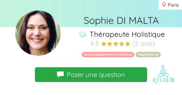 Consulter le profil de Sophie DI MALTA