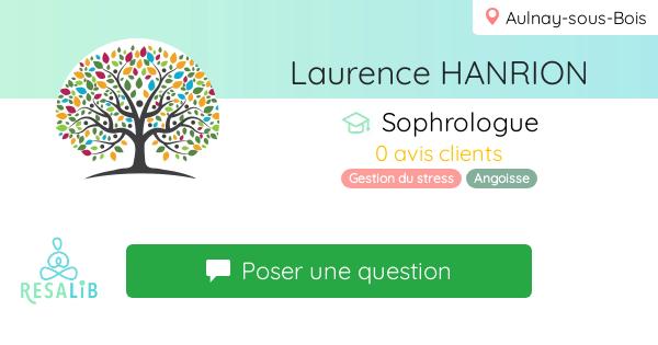 Consulter le profil de Laurence HANRION sur Resalib l'annuaire des médecines douces et des thérapeutes