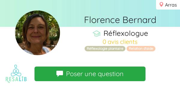 Prenez rendez-vous avec FLORENCE BERNARD