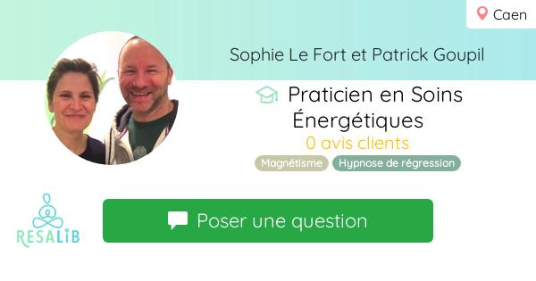 Consulter le profil de Sophie Le Fort et Patrick Goupil sur Resalib l'annuaire des médecines douces et des thérapeutes