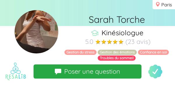 Consulter le profil de Sarah Torche