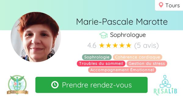 Consulter le profil de Marie-Pascale Marotte sur Resalib l'annuaire des médecines douces et des thérapeutes