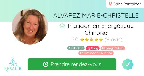 Consulter le profil de ALVAREZ MARIE-CHRISTELLE