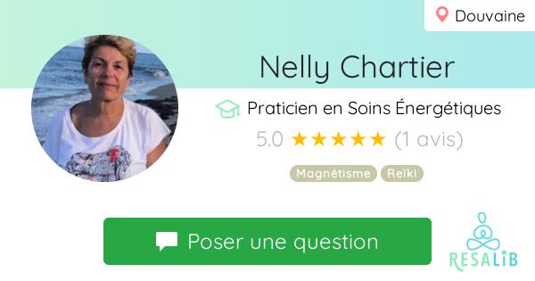 Consulter le profil de Nelly Chartier sur Resalib l'annuaire des médecines douces et des thérapeutes