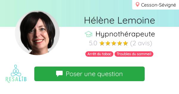 Consulter le profil de Hélène Lemoine sur Resalib l'annuaire des médecines douces et des thérapeutes