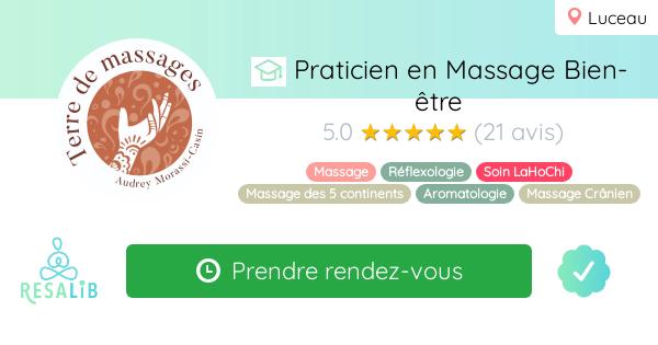 Consulter le profil de Audrey Morassi-Casin, Terre de massages