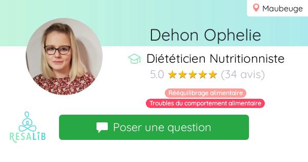 Consulter le profil de Dehon Ophelie