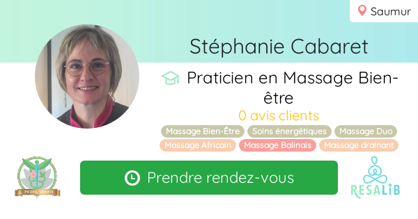 Consulter le profil de Stéphanie Cabaret sur Resalib l'annuaire des médecines douces et des thérapeutes