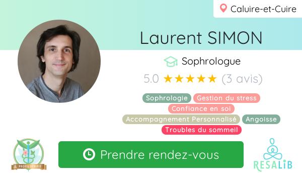 Consulter le profil de Laurent SIMON sur Resalib l'annuaire des médecines douces et des thérapeutes