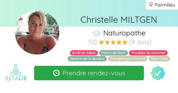 Consulter le profil de Christelle MILTGEN