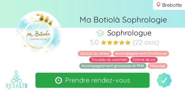 Consulter le profil de Ma Botiolà Sophrologie