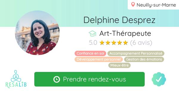 Consulter le profil de Delphine Desprez sur Resalib l'annuaire des médecines douces et des thérapeutes