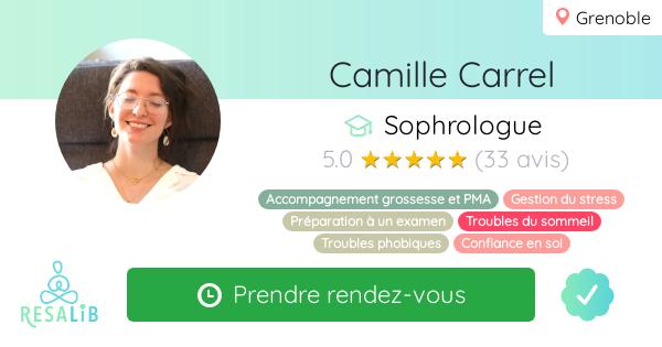 Consulter le profil de Camille Estrabols Carrel