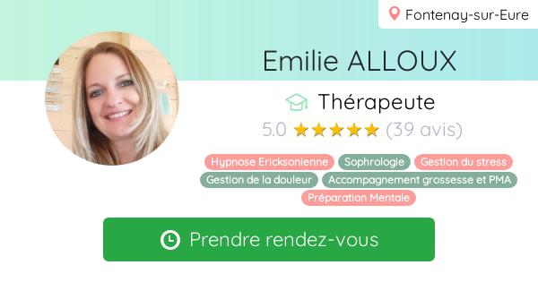 Consulter le profil de Emilie ALLOUX sur Resalib l'annuaire des médecines douces et des thérapeutes