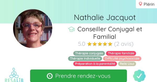 Consulter le profil de Nathalie Jacquot sur Resalib l'annuaire des médecines douces et des thérapeutes